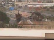 شاهد.. تعرض موكب وزير داخلية الوفاق الليبية لإطلاق نار