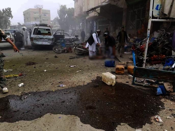 انفجار در هلمند افغانستان؛ یک کشته و 15 زخمی برجای گذاشت