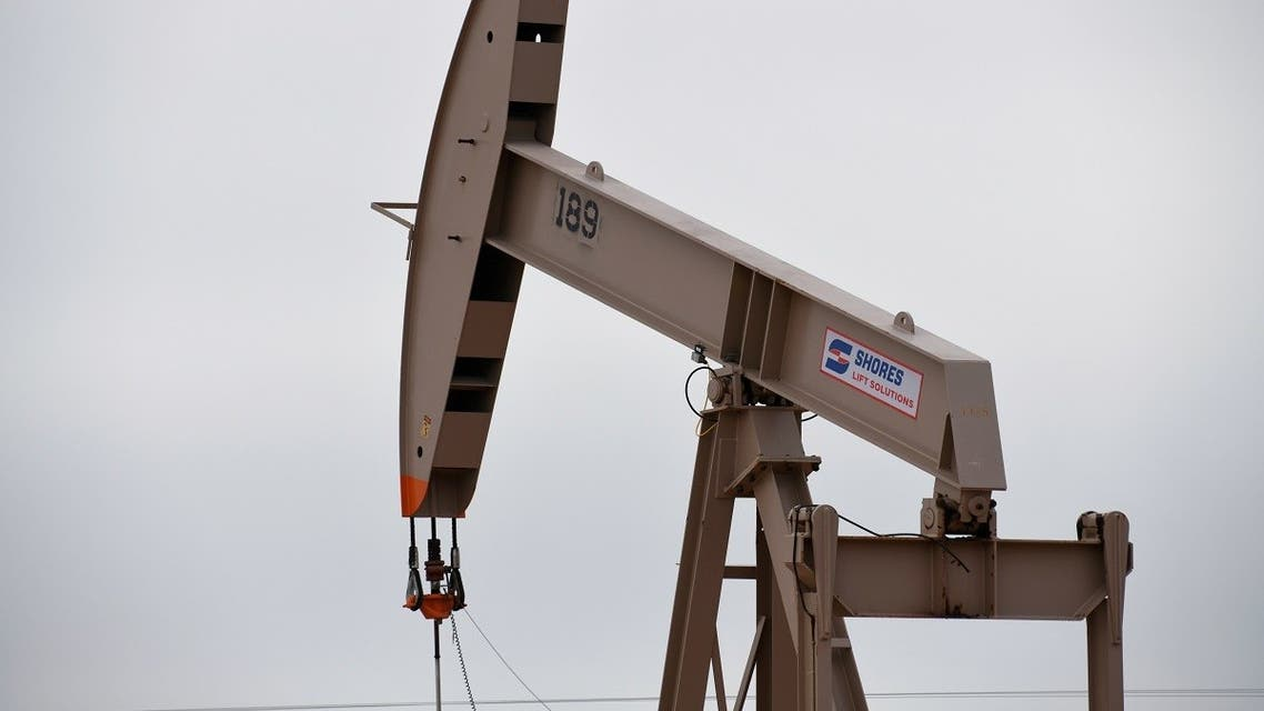 File photo of a pump jack operating in the Permian Basin oil and natural gas production area near Odessa, Texas, US. (Reuters)