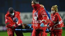 مهاجم نابولي يدخل المستشفى بعد إصابة في الرأس