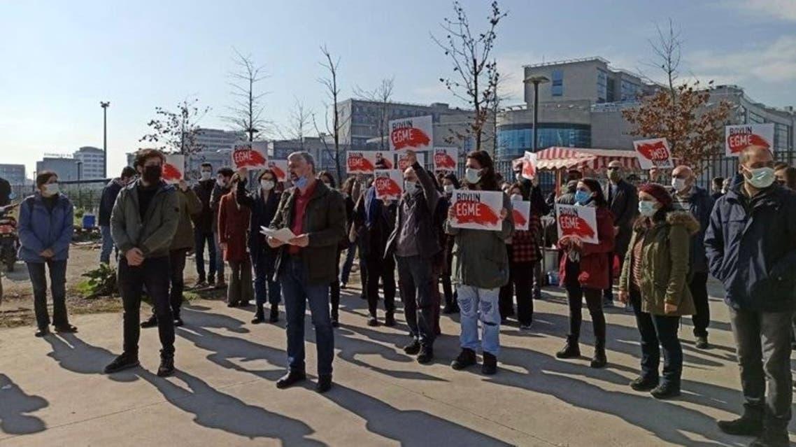 احتجاج في تركيا