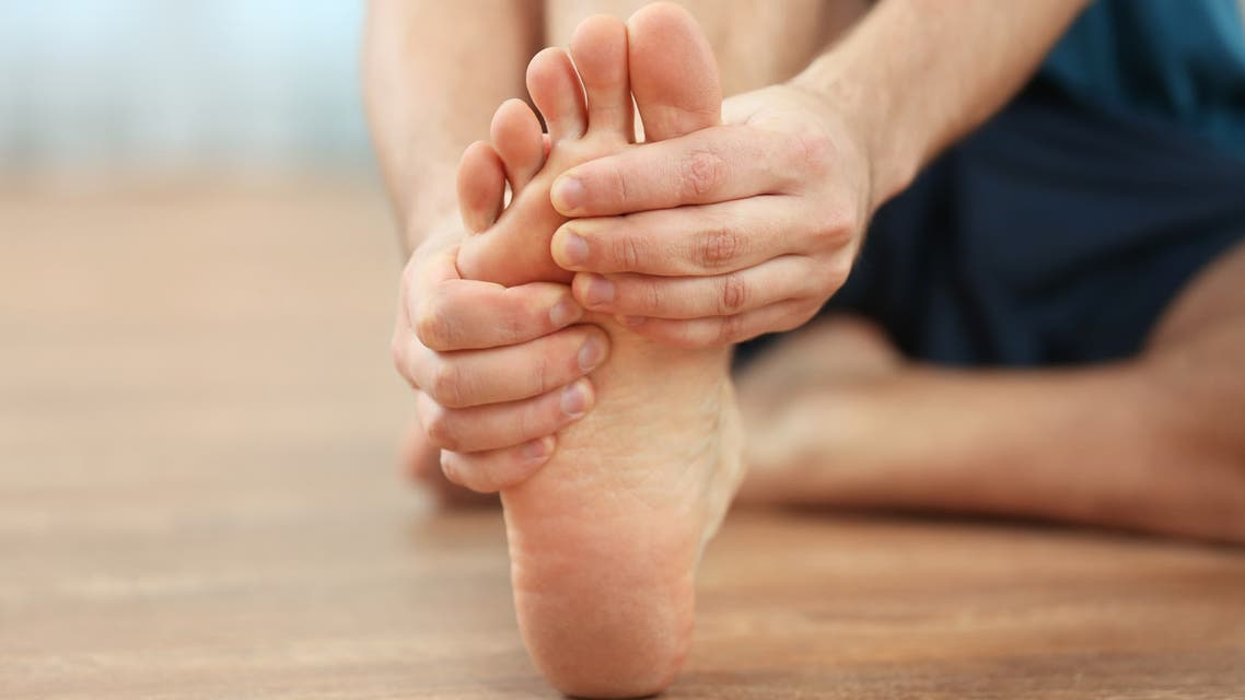 Plantar fasciosis has become a common foot complaint during the COVID-19 pandemic. (File photo)