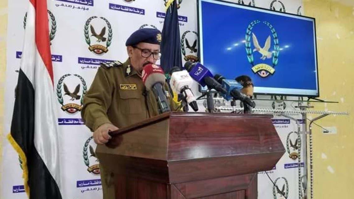 مارب گورنر کے ڈی جی پولیس بریگیڈیئر یحییٰ حُمید