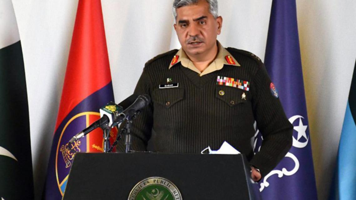 آئی ایس پی آر کے ترجمان میجر جنرل بابر افتخار