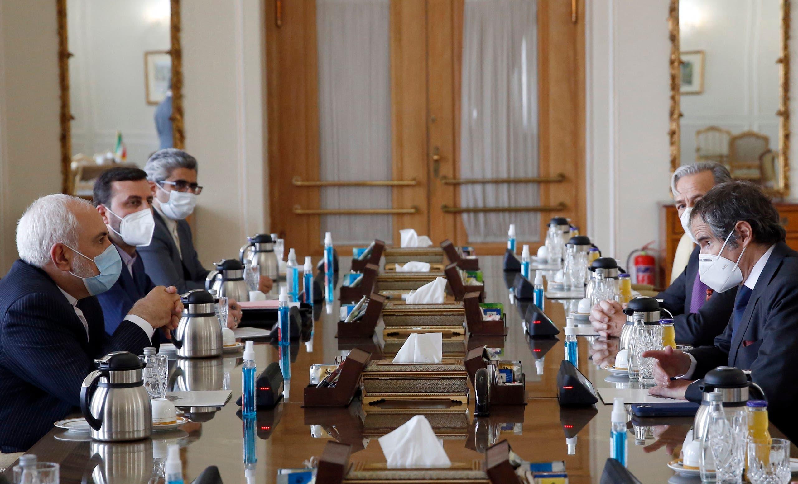 من زيارة أمين عام المنظمة الدولية للطاقة الذرية إلى إيران الأحد