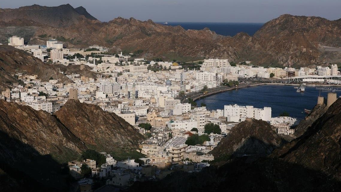 An aerial view of Muscat, the capital of Oman. (Reuters)