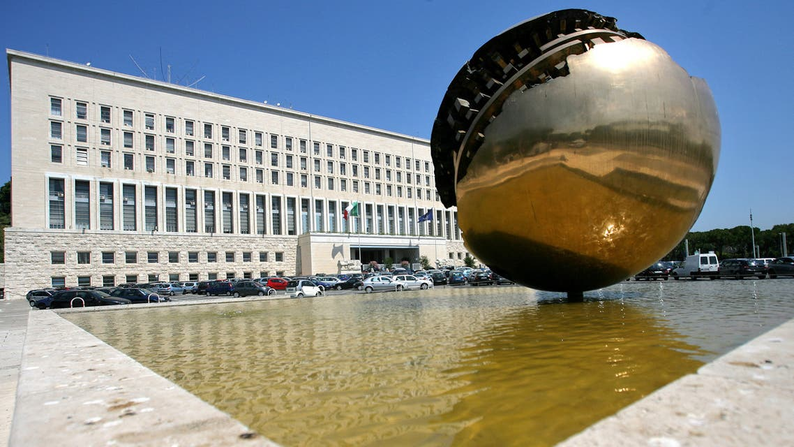The Italian Foreign Ministry Farnesina building in Rome, Italy. (AFP)
