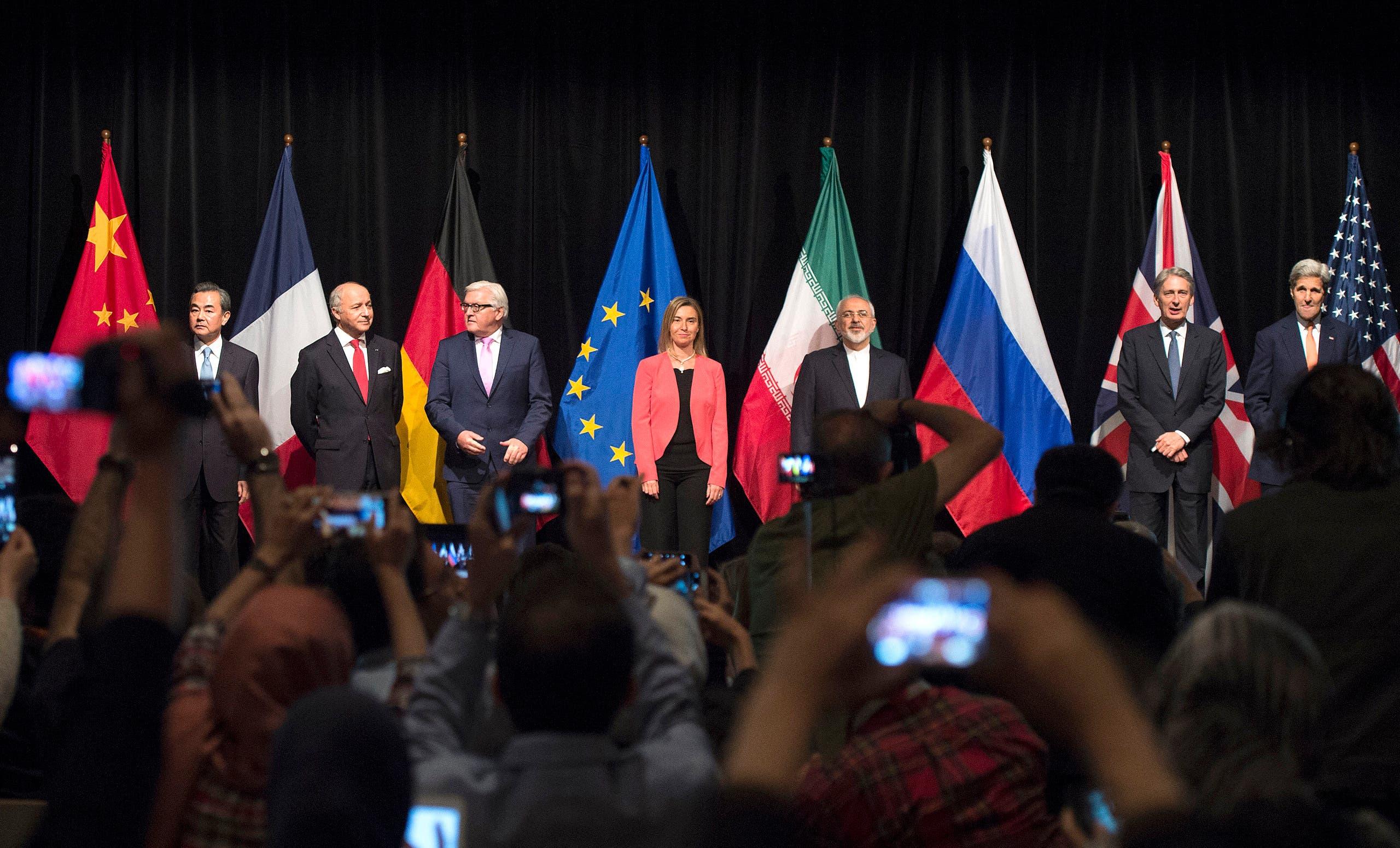 من إعلان الاتفاق النووي في فيينا في يوليو 2015