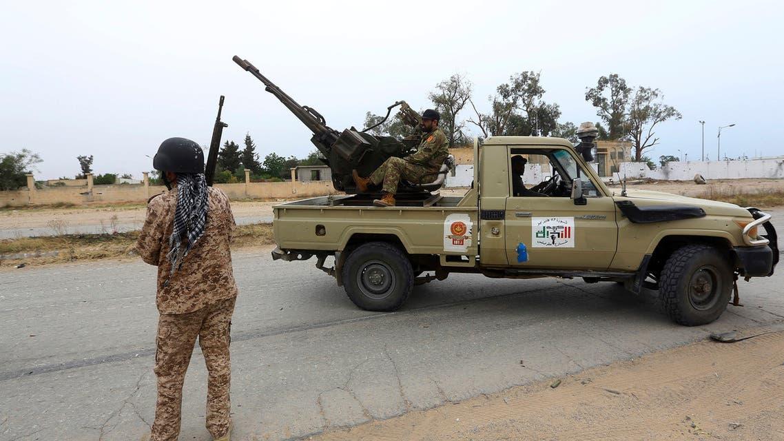 فصائل مسلحة  في طرابلس (أرشيفية- أسوشييتد برس)