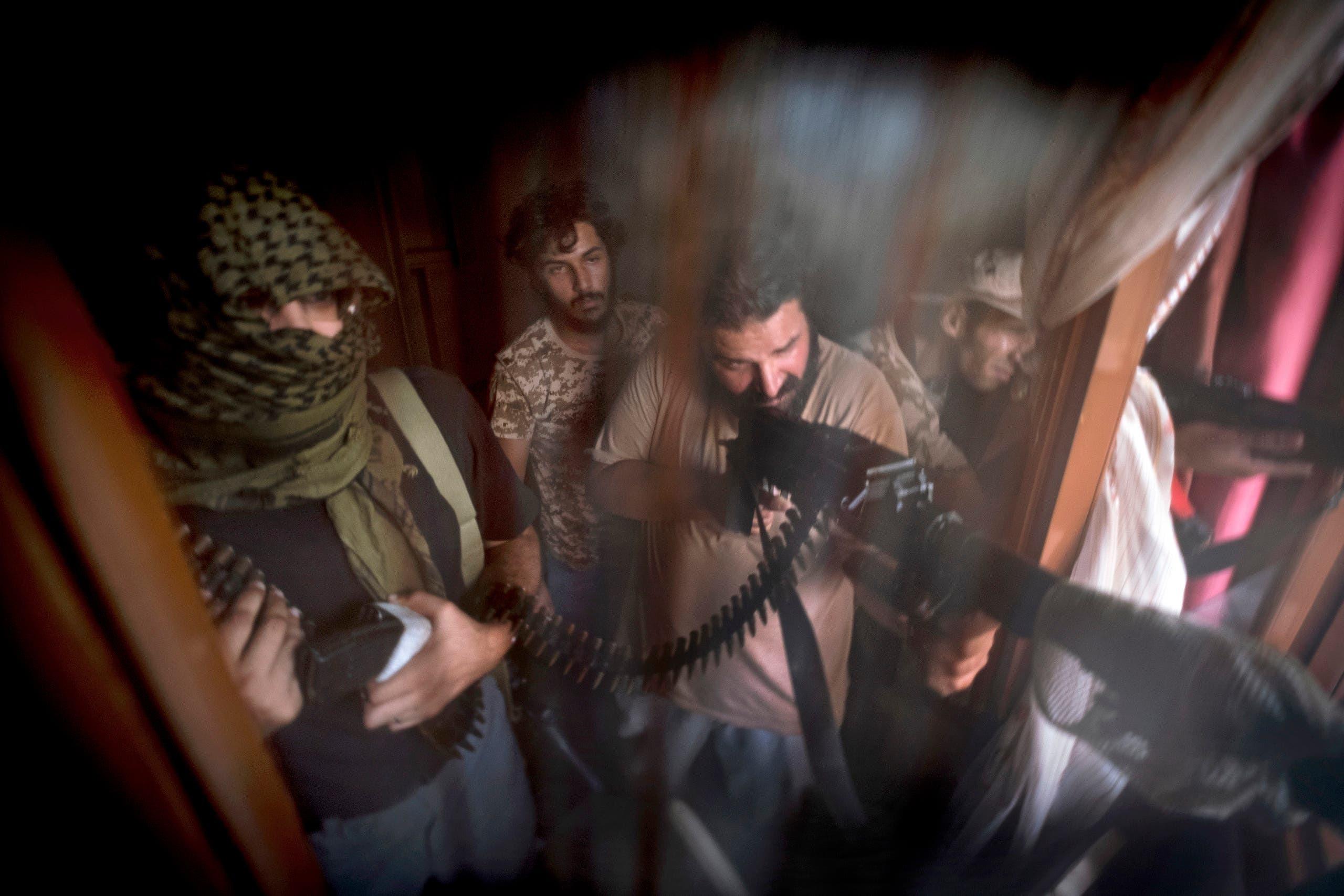 فصائل مسلحة وميليشيات ليبية في طرابلس (أرشيفية)