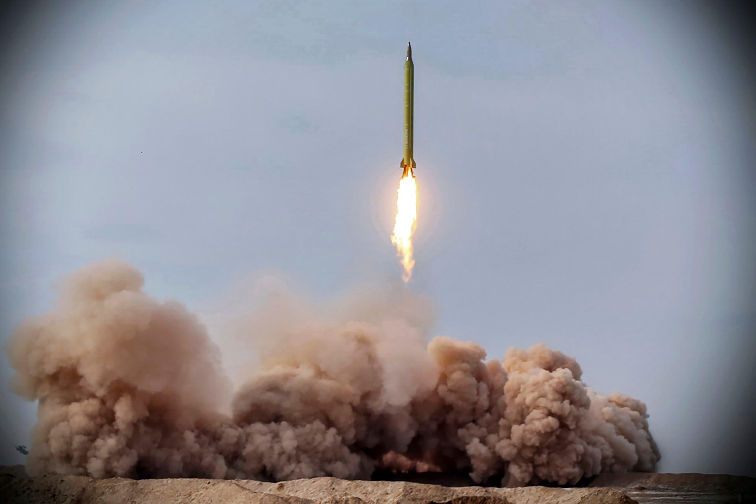 صاروخ إيراني (أرشيفية- أسوشييتد برس)
