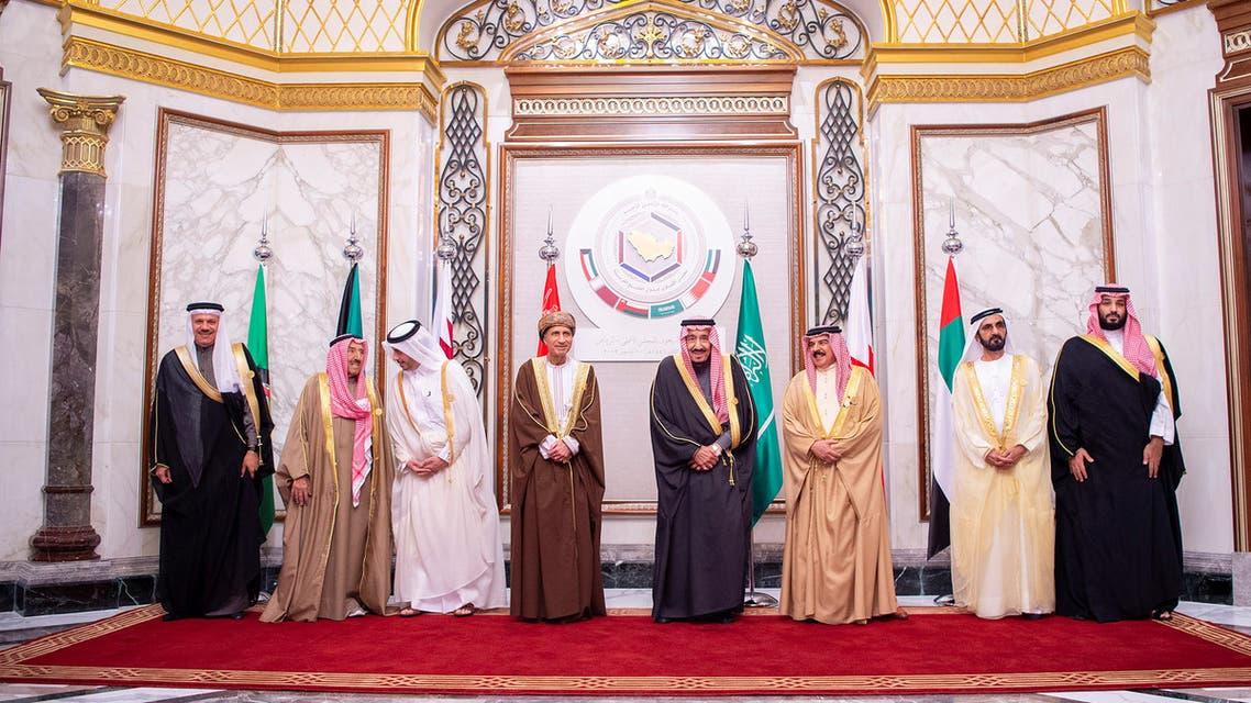 Saudi Arabia's King Salman bin Abdulaziz Al Saud with GCC leaders pose for a photo during the Gulf Cooperation Council's (GCC) 40th Summit in Riyadh, Saudi Arabia December 10, 2019. (File photo: Reuters)