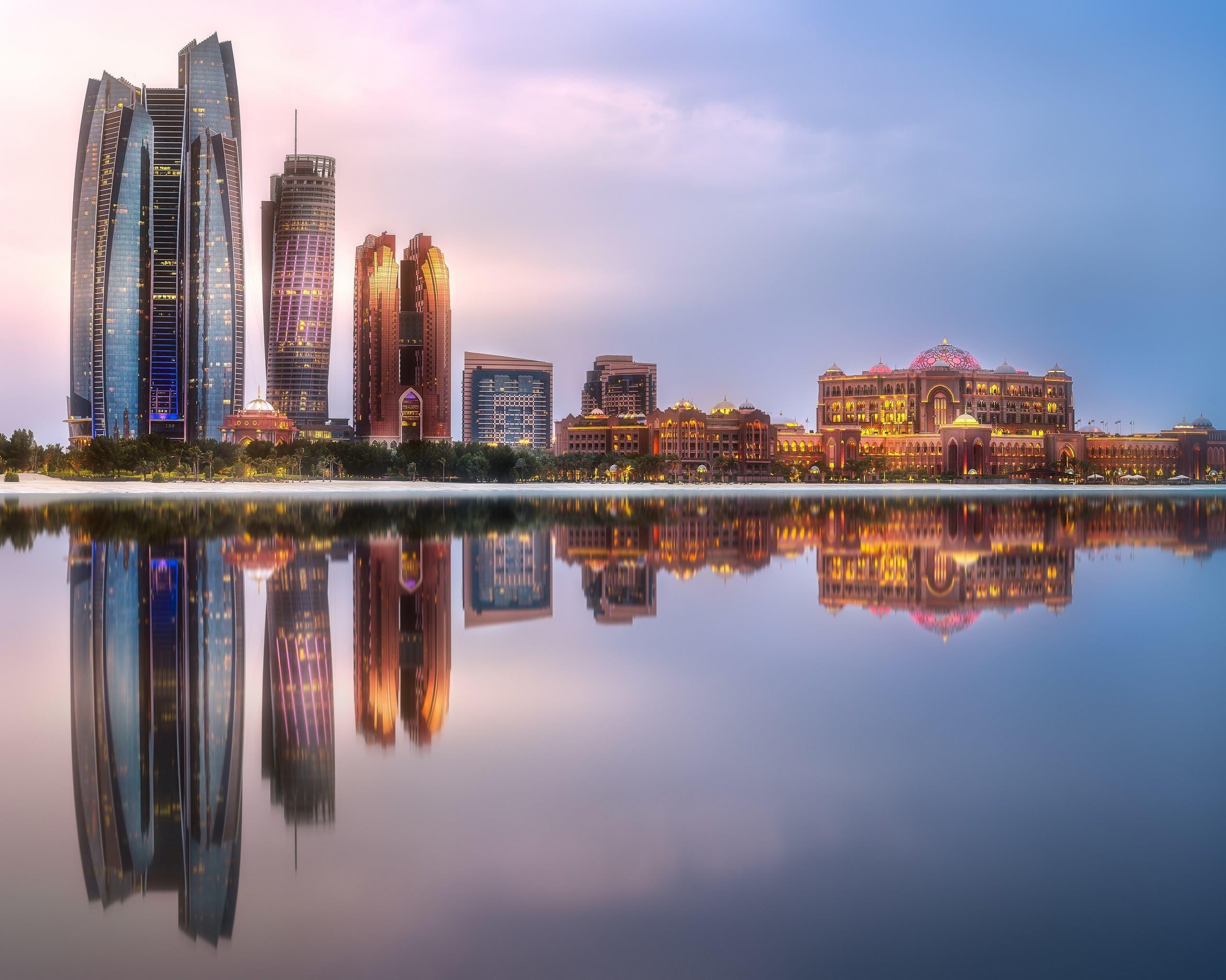 A view of Abu dhabi's Emirates Palace. (WAM)