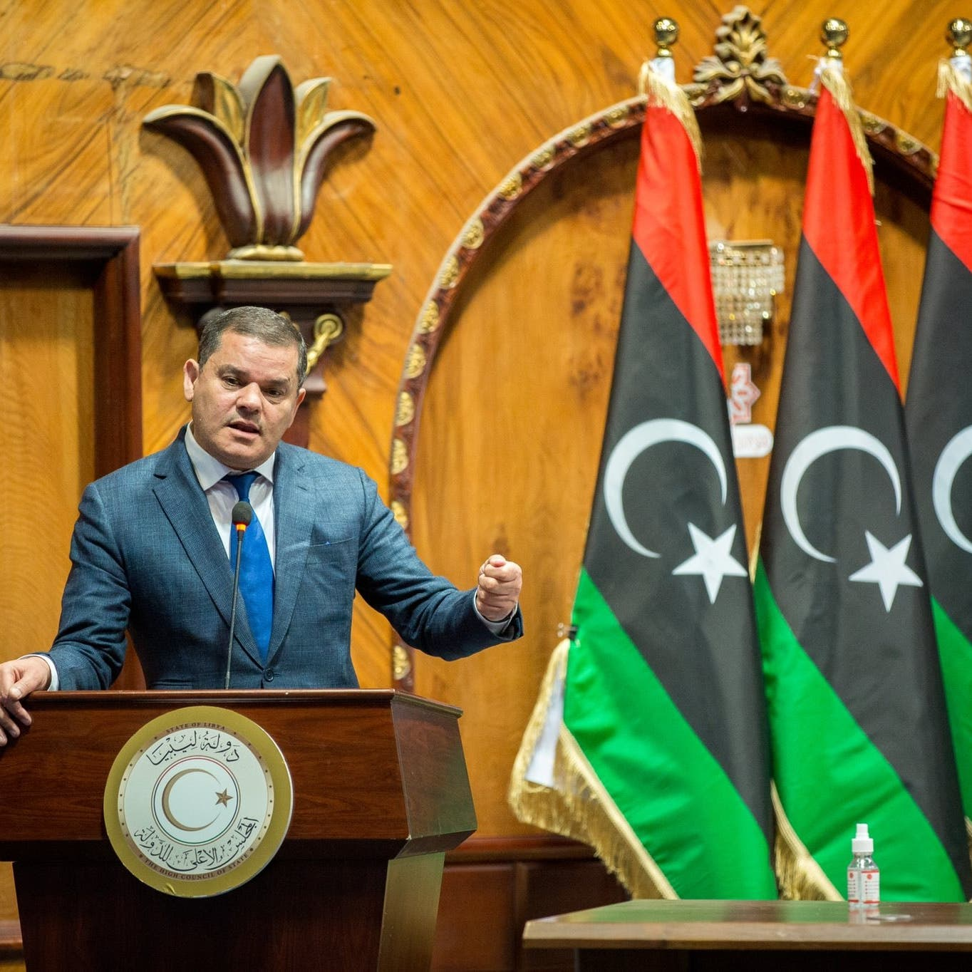 ليبيا.. رئيس الوزراء يقدم تشكيلة حكومة وحدة وطنية للبرلمان