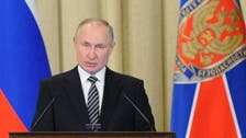 President Putin accuses West of wanting to 'shackle' Russia