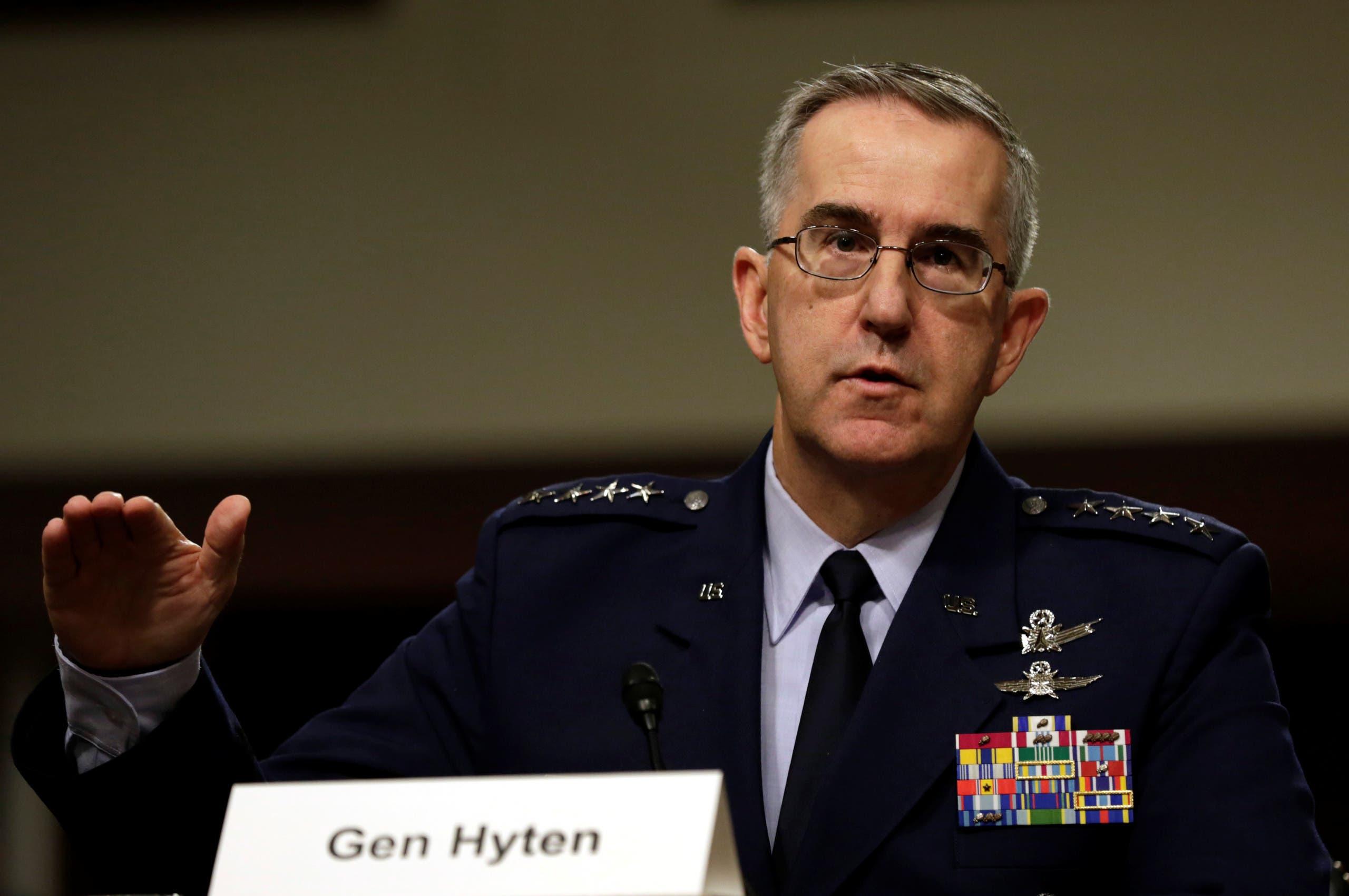 نائب رئيس هيئة الأركان الأميركية المشتركة، الجنرال جون هايتن (أرشيفية - رويترز)