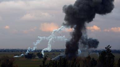 """انفجار مخزن ذخيرة في طرابلس.. وإصابة عناصر من """"الوفاق"""""""