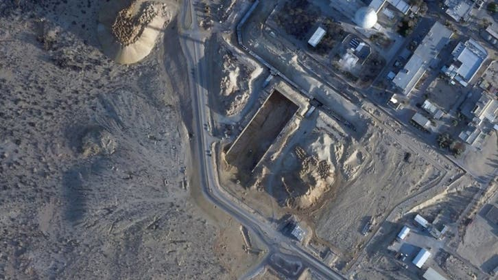 Satellite images show secretive Israel nuclear facility undergoing major construction