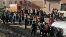 مصر:پٹڑی پر یادگاری فوٹو بنانے والے تین نوجوان ٹرین نے کچل ڈالے