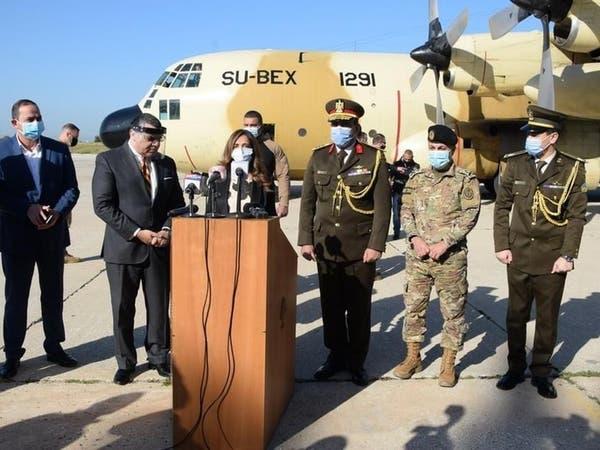 مصر ترسل مساعدات طبية للجيش اللبناني