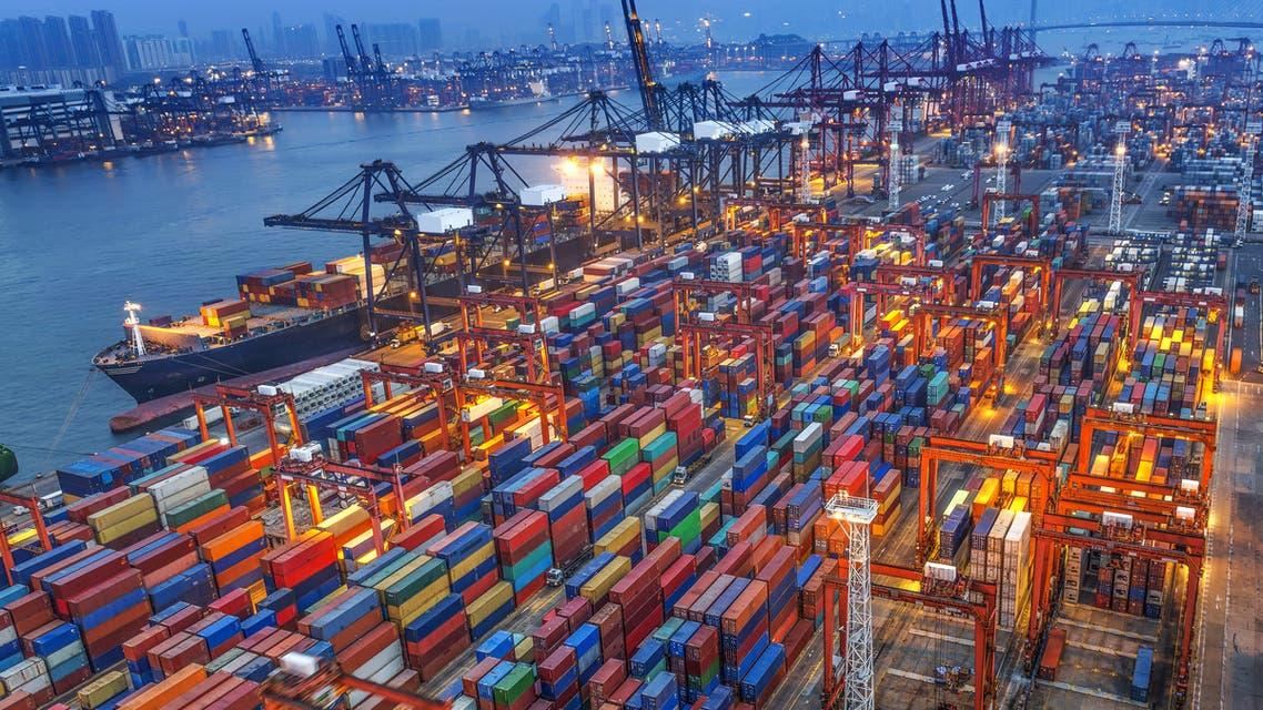 ميناء شحن تعبيرية