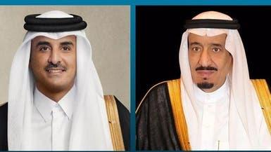 قطر تهنئ خادم الحرمين الشريفين بنجاح عملية ولي العهد