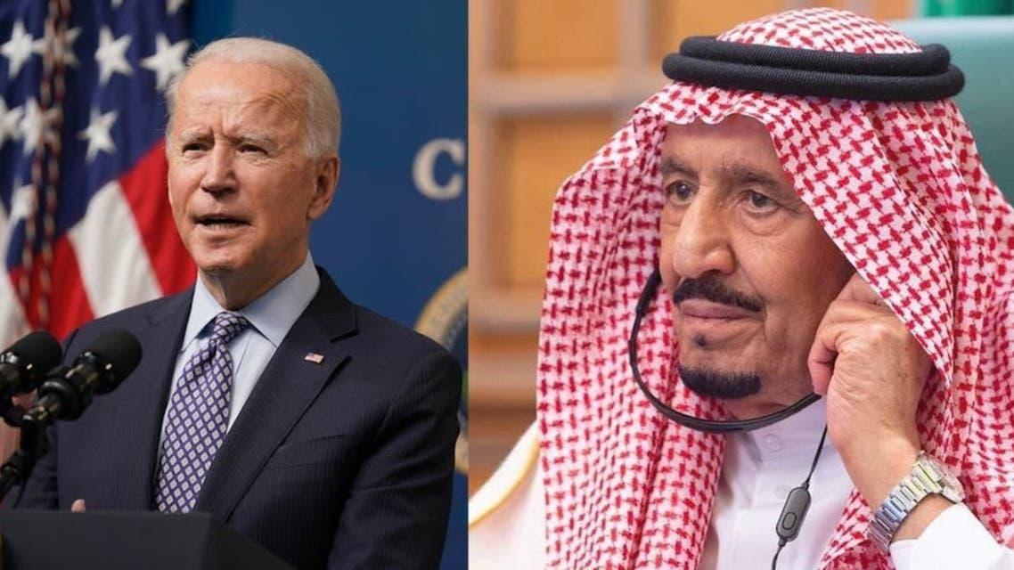 Shah Salman and Joe Biden