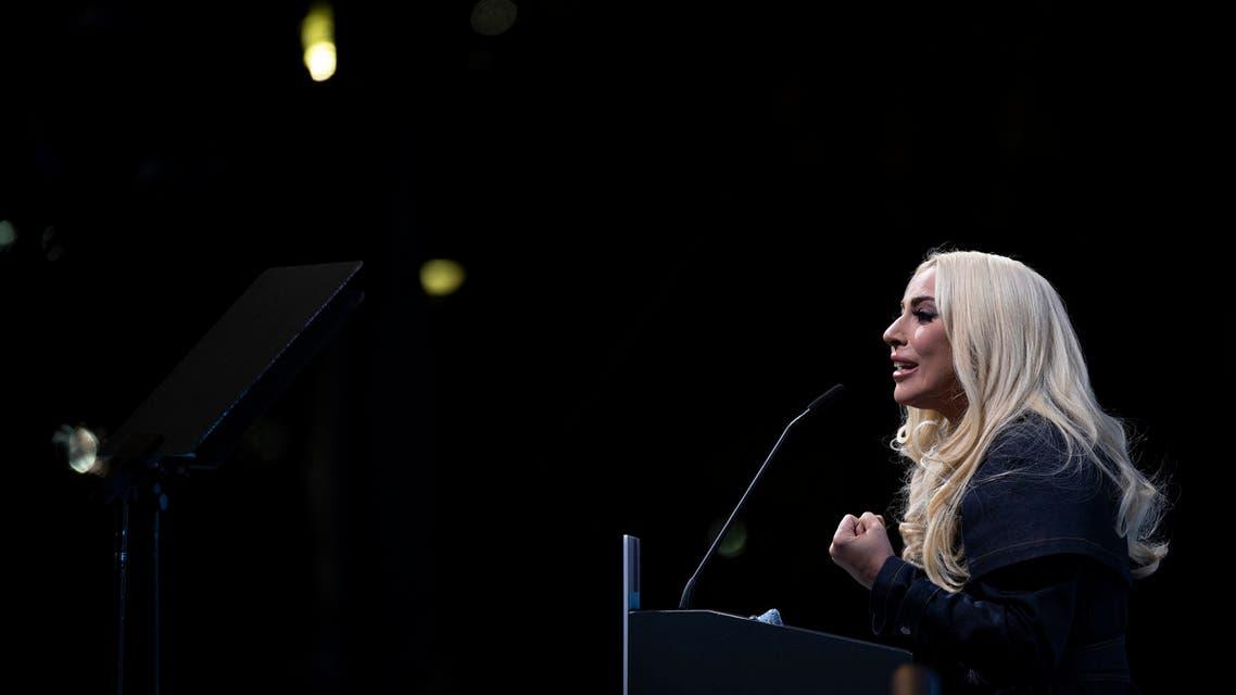 US singer Lady Gaga. (AFP)