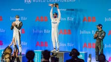 De Vries wins Formula E's first night race in Saudi Arabia's Diriyah