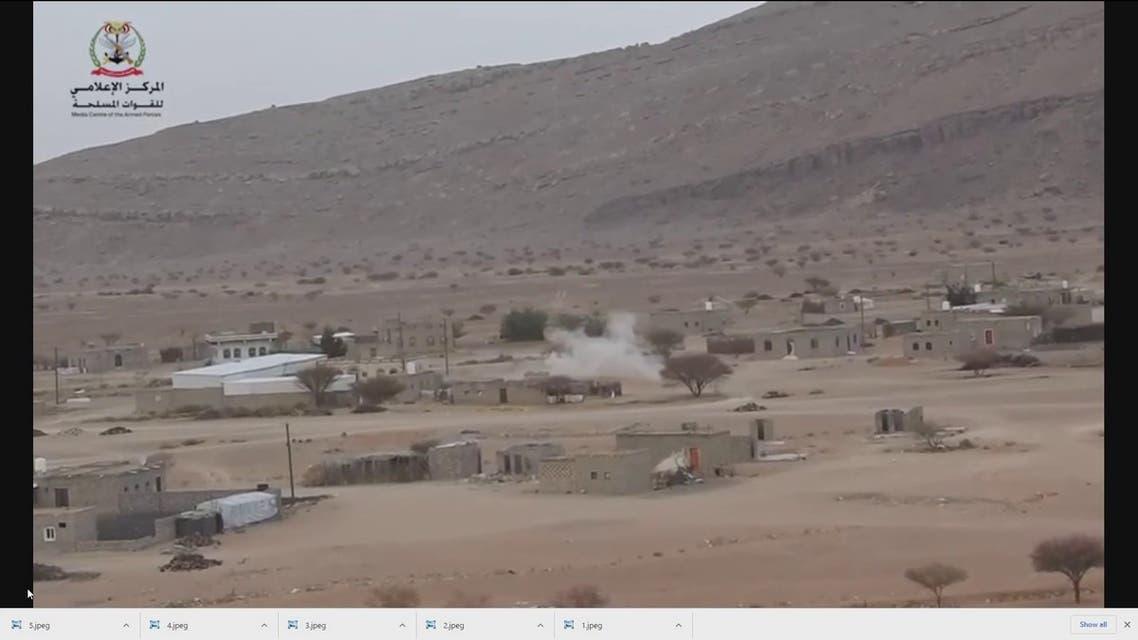 توثيق مصور لاستهداف الحوثيين المدنيين في مأرب بالصواريخ والقذائف