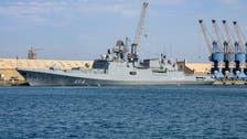 روس کے پہلے جنگی بحری جہاز کی نیول بیس کے قیام سے قبل پورٹ سوڈان آمد