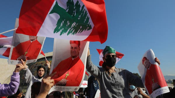 Thousands rally to support Lebanon's Patriarch call for an international  conference | Al Arabiya English