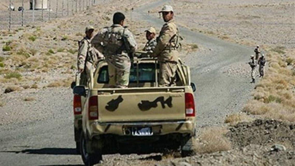 Revolutionary guards on the border in Balochistan region (Archives)