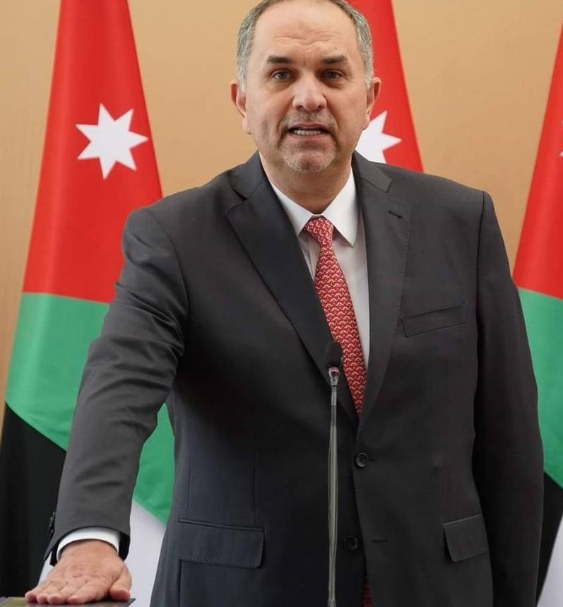 وزير العدل الأردني بسام التلهوني