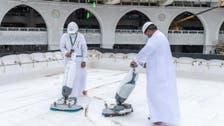جدید آلات اور تربیت یافتہ کارکنان کے ساتھ بیت اللہ کی چھت صرف 20 منٹوں میں صاف !
