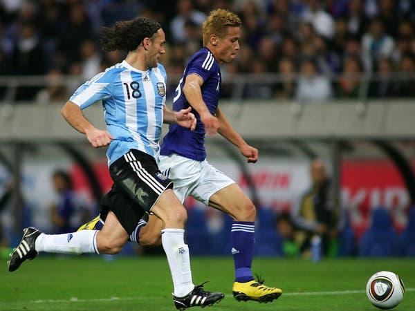 منتخب اليابان يستعد للأولمبياد بمواجهة الأرجنتين