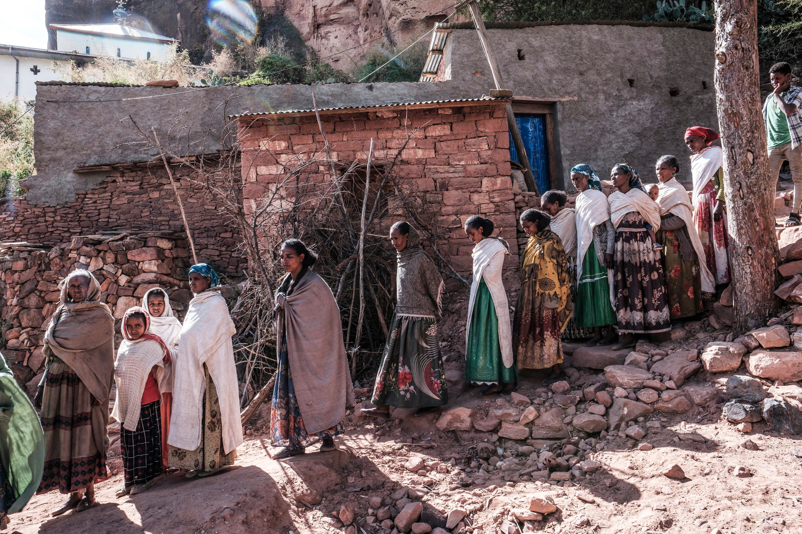 Residents of Tigray (Archive - AFP)