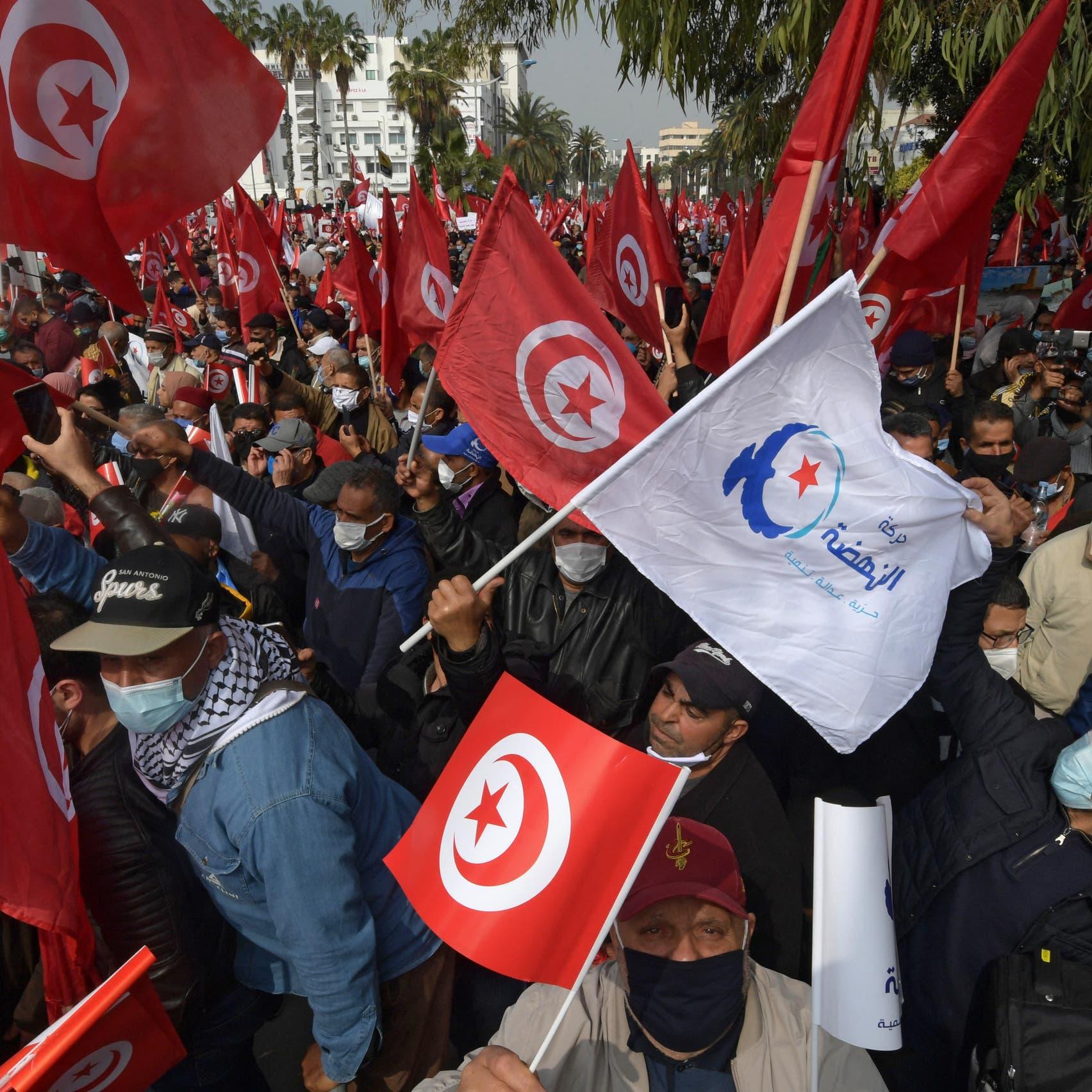 تحرش وعنف بمسيرة النهضة.. صحفيةتونسية تروي