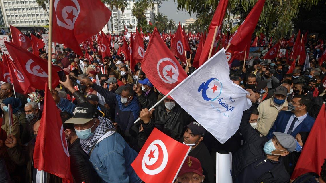 من مسيرة الهضة في تونس (أرشيفية- فرانس برس)