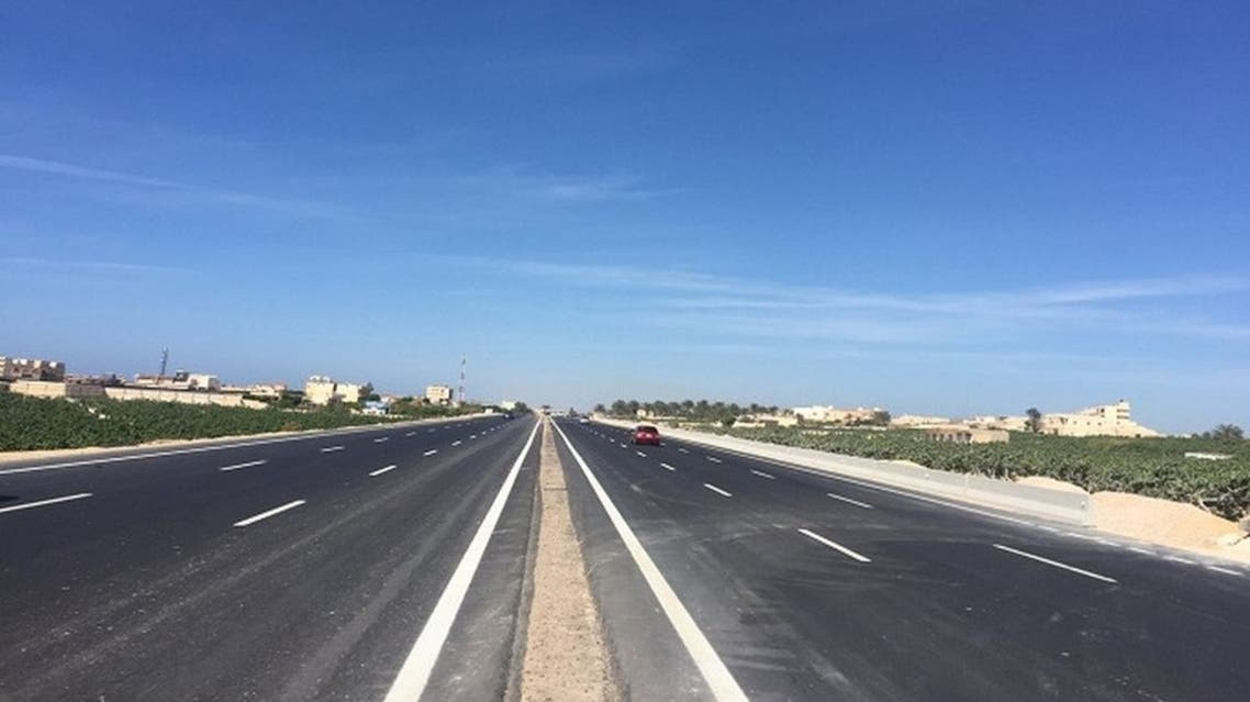 طريق بري دول مصر