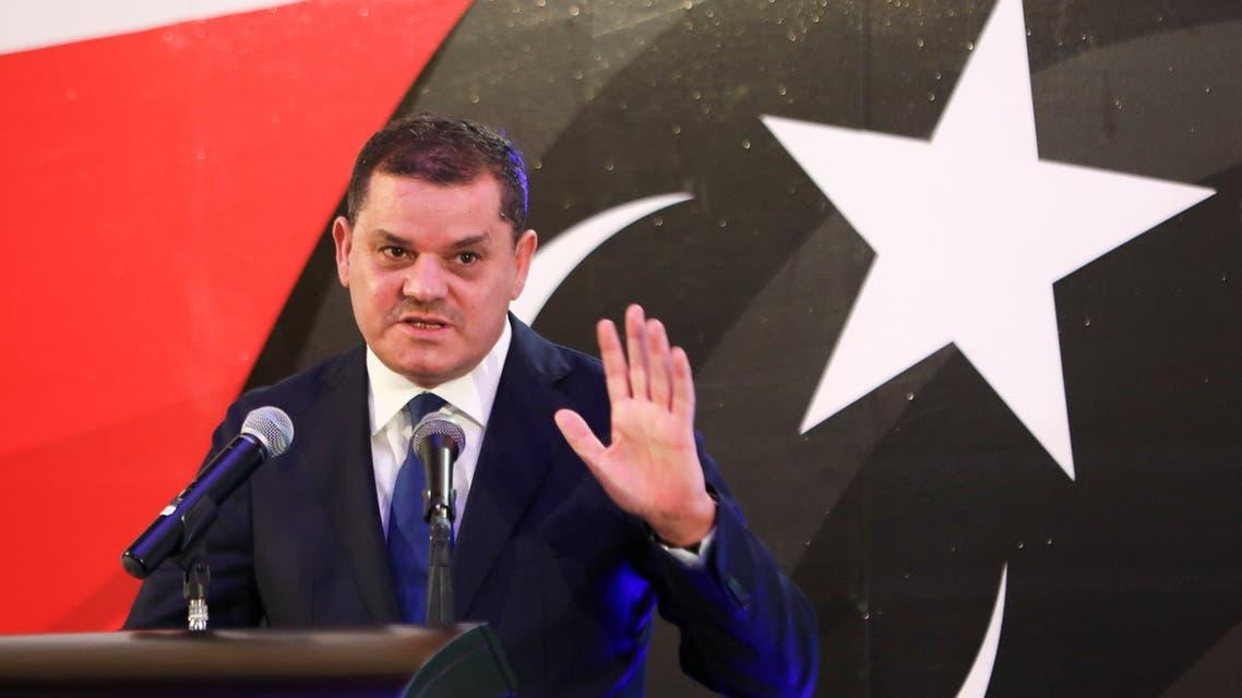 رئيس الحكومة الليبية الجديدة عبد الحميد الدبيبة (أرشيفية- رويترز)