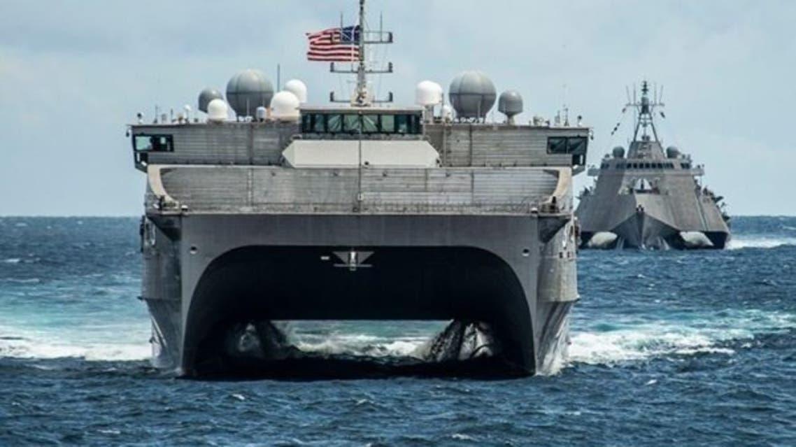 سفينة أميركية