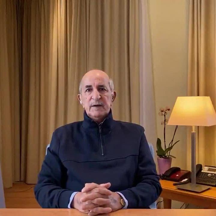 الرئيس الجزائري:الجيش هو الضامن دستورياً والعمود الفقري للدولة
