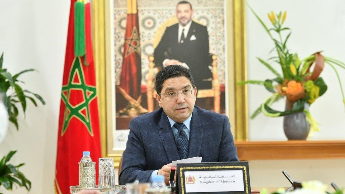 وزير الخارجية في المغرب ناصر بوريطة