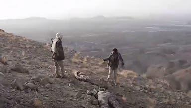 شاهد.. مصرع 35 حوثياً بنيران الجيش اليمني غرب مأرب
