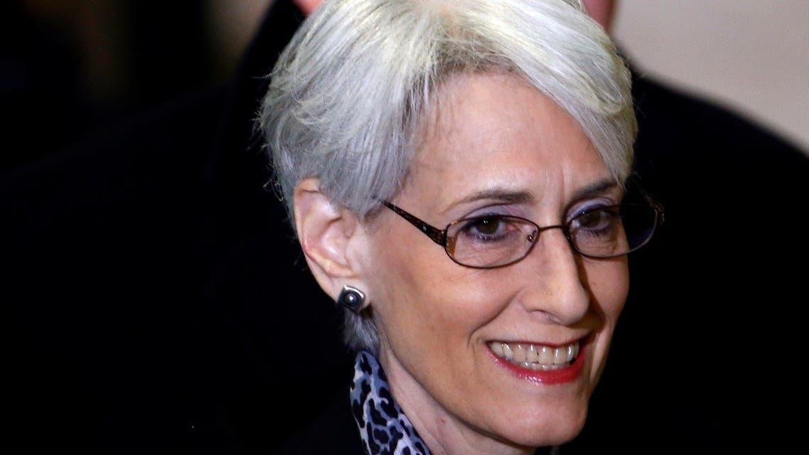 Wendy Sherman arrives for a meeting on Syria at the United Nations European headquarters in Geneva February 13, 2014. (Reuters)