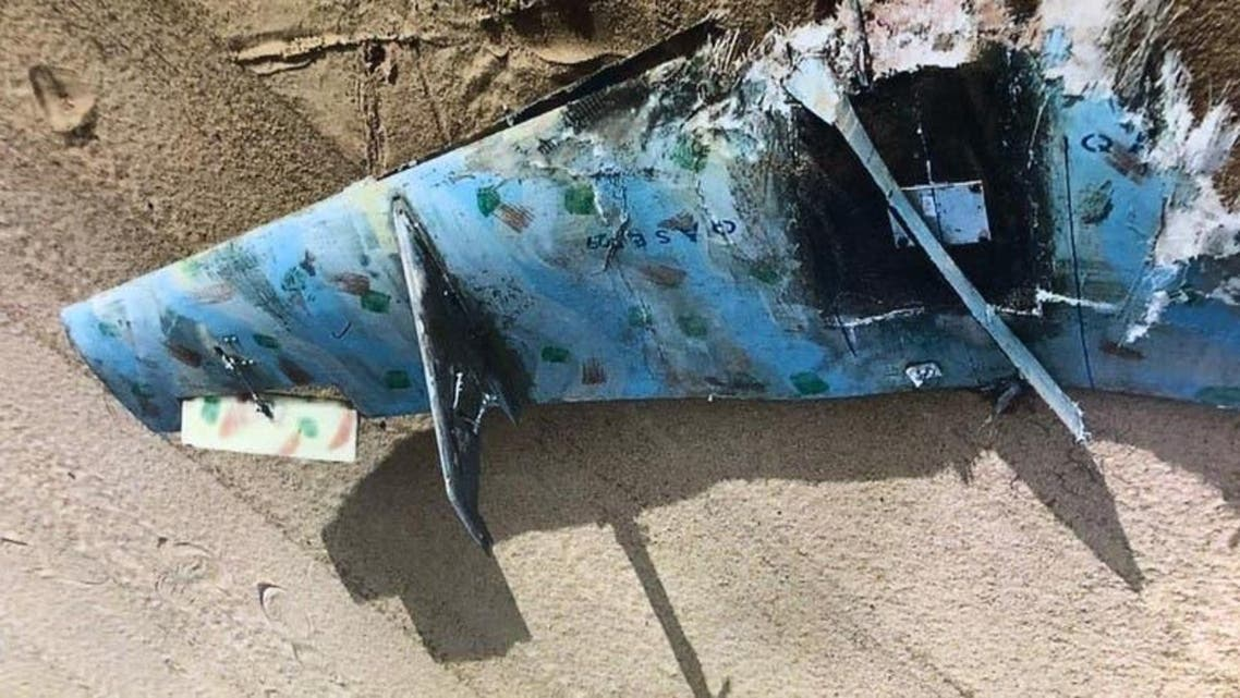 Another drone sent by Houthis to target Saudi Arabia was destroyed by the Arab Coalition. (File photo)