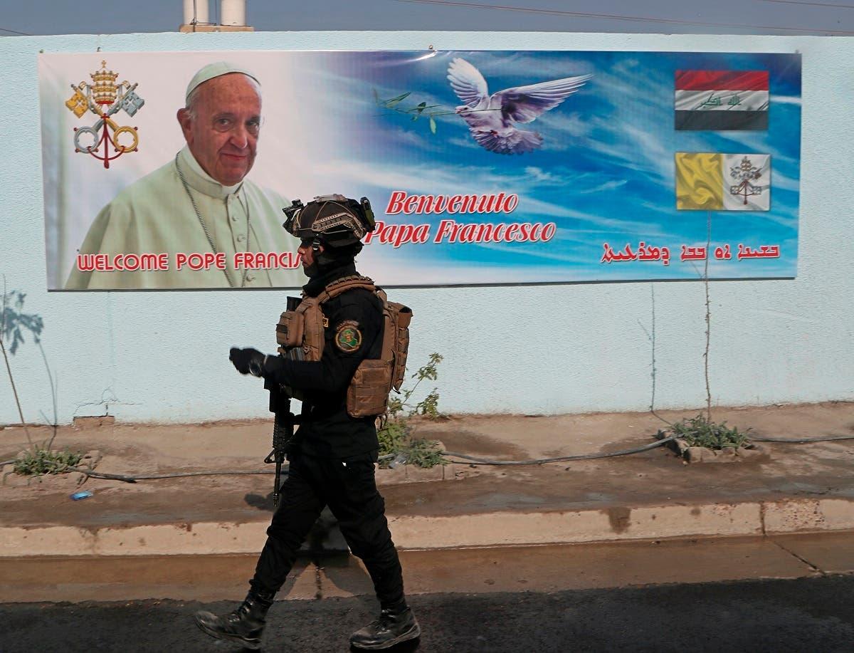 من تحضيرات العراق للزيارة