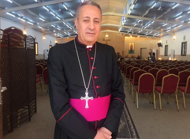 المطران مارنثائيل نزار سمعان مطران ابرشية حدياب للسريان الكاثوليك في إقليم كردستان