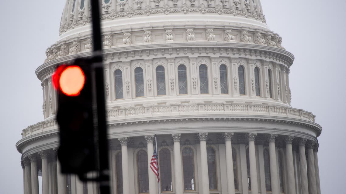 The US Capitol is seen in Washington, DC, March 23, 2020, as the Senate continues negotiations on a relief package in response to the outbreak of COVID-19, known as the coronavirus. (File photo: AFP)